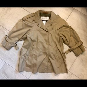 by malene birger cropped trench